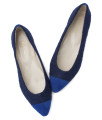 SW594-AnnaKastle-Womens-Pointy-Toe-Boucle-Ballet-Flats-Shoes-Blue-08