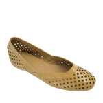SW364-AnnaKastle-Womens-Geometric-Cut-Out-Flat-Shoes-EarthYellow-01