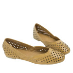 SW364-AnnaKastle-Womens-Geometric-Cut-Out-Flat-Shoes-EarthYellow-08