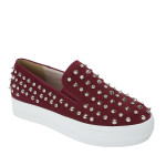CR4124-AnnaKastle-Stree-Chic-Studded-Slip-On-Sneakers-Wine-01