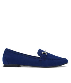 AnnaKastle Comfortable Womens Classic Penny Loafers Dark Blue