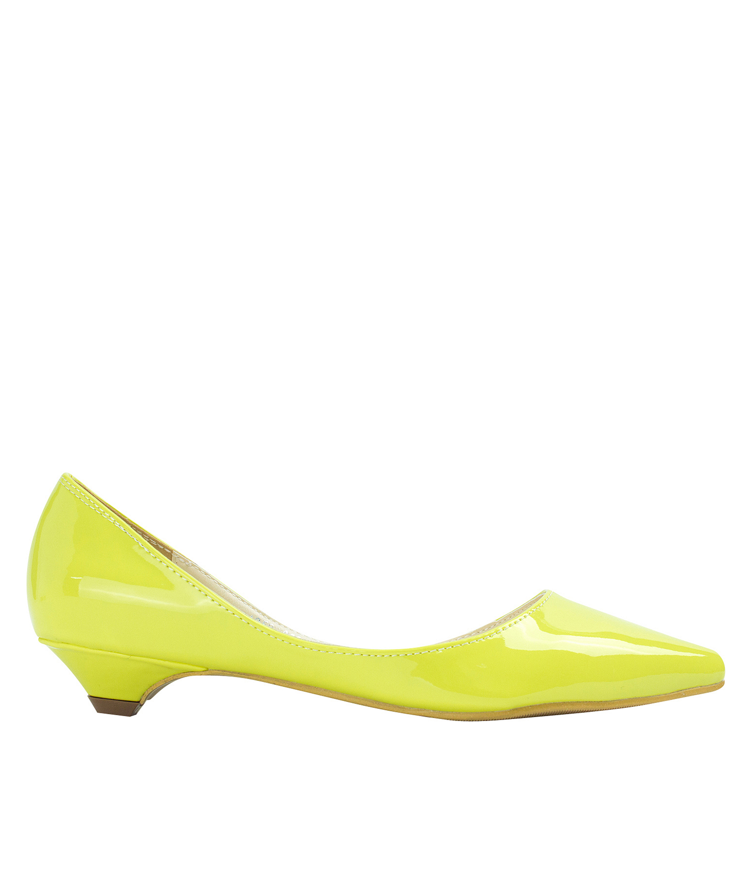 Low Yellow Heels
