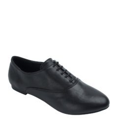 AnnaKastle Womens Sleek Lace-Up Oxfords Black