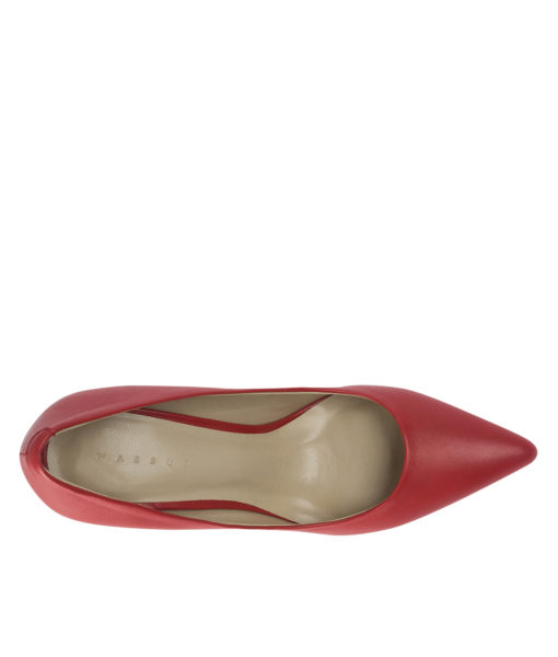 AnnaKastle 100 Leather Pumps Red