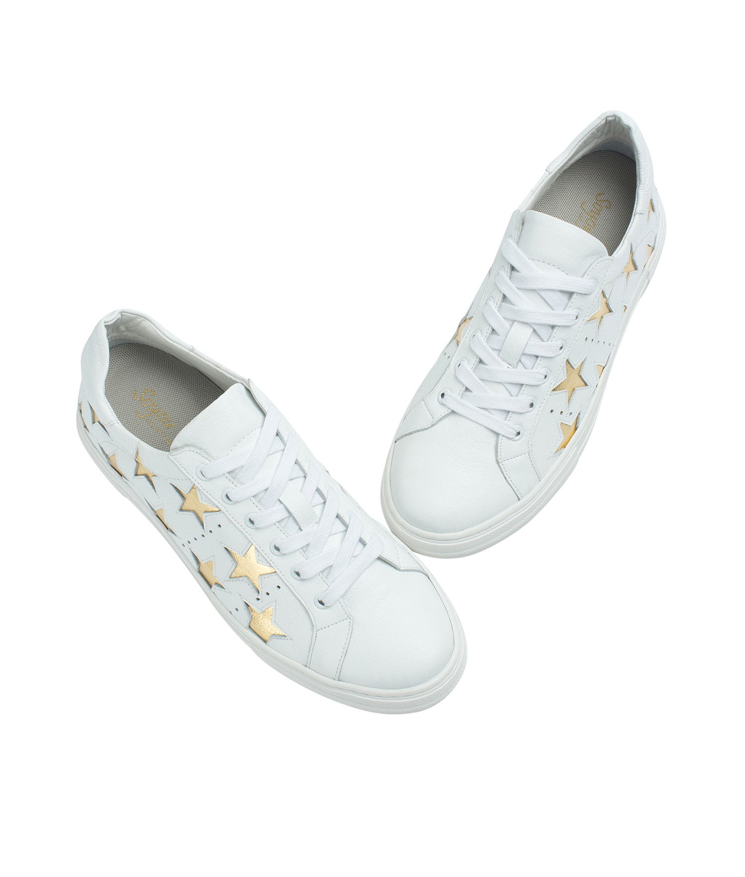 Star Cutout Sneakers - annakastleshoes.com