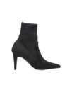 DDMykd035-Annakastle-Womens-Pointy-Toe-Knitted-Sock-Booties-Black-01