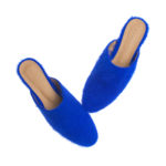 WS108-Annakastle-Womens-Fuzzy-Angora-Mule-Loafers-Blue-06