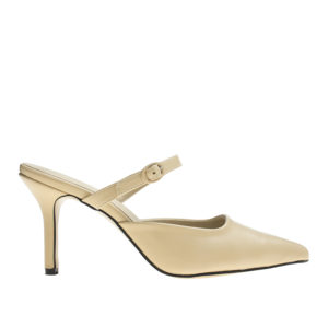 2c3b3a35e37a Knotted Bow Block Heel Loafer Pumps - annakastleshoes.com
