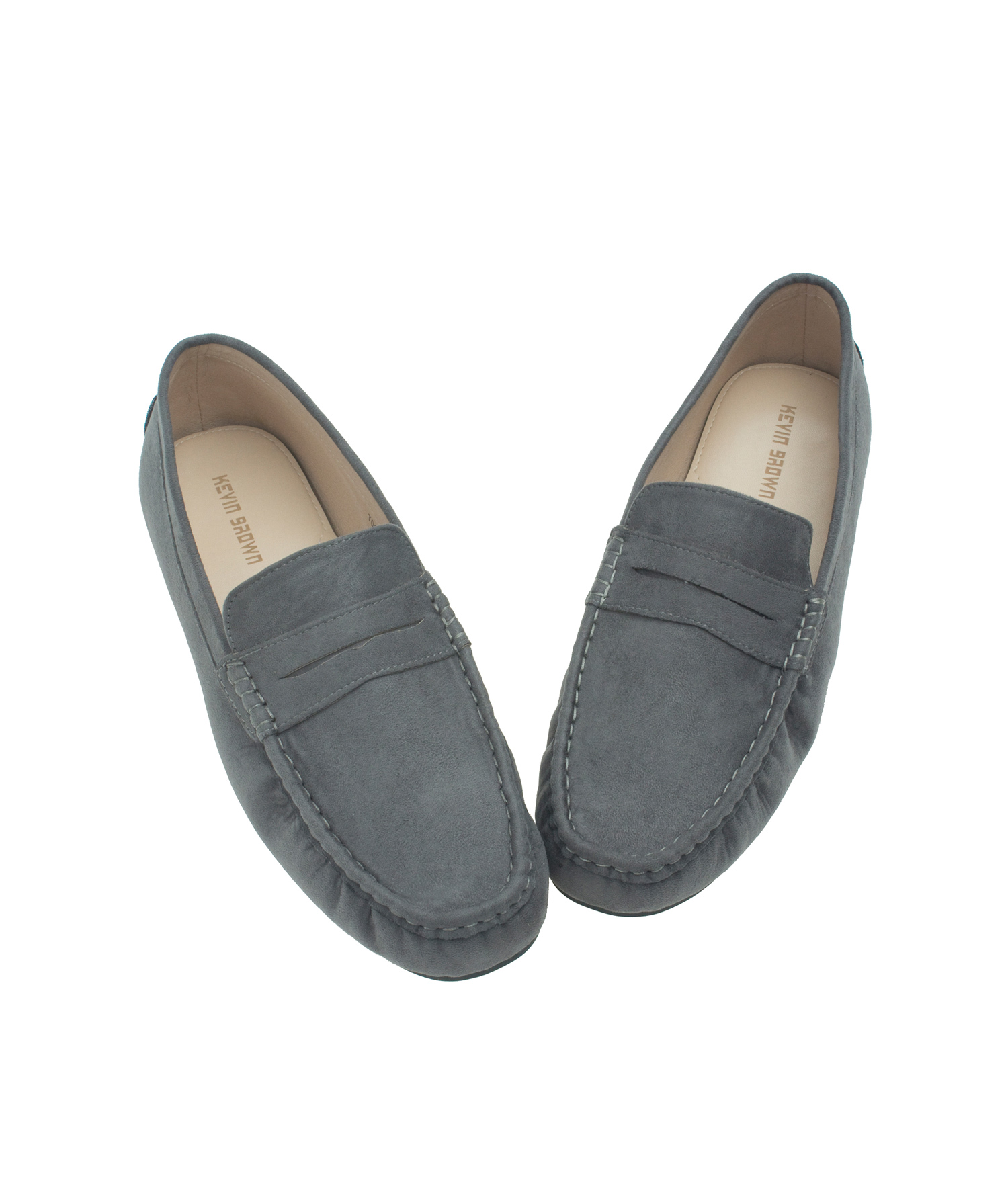 Classic Suede Penny Loafer Driving