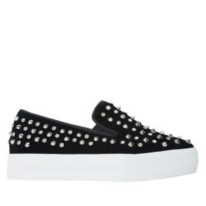 6699c4509a0 Street-Chic Studded Slip-On Sneakers - annakastleshoes.com