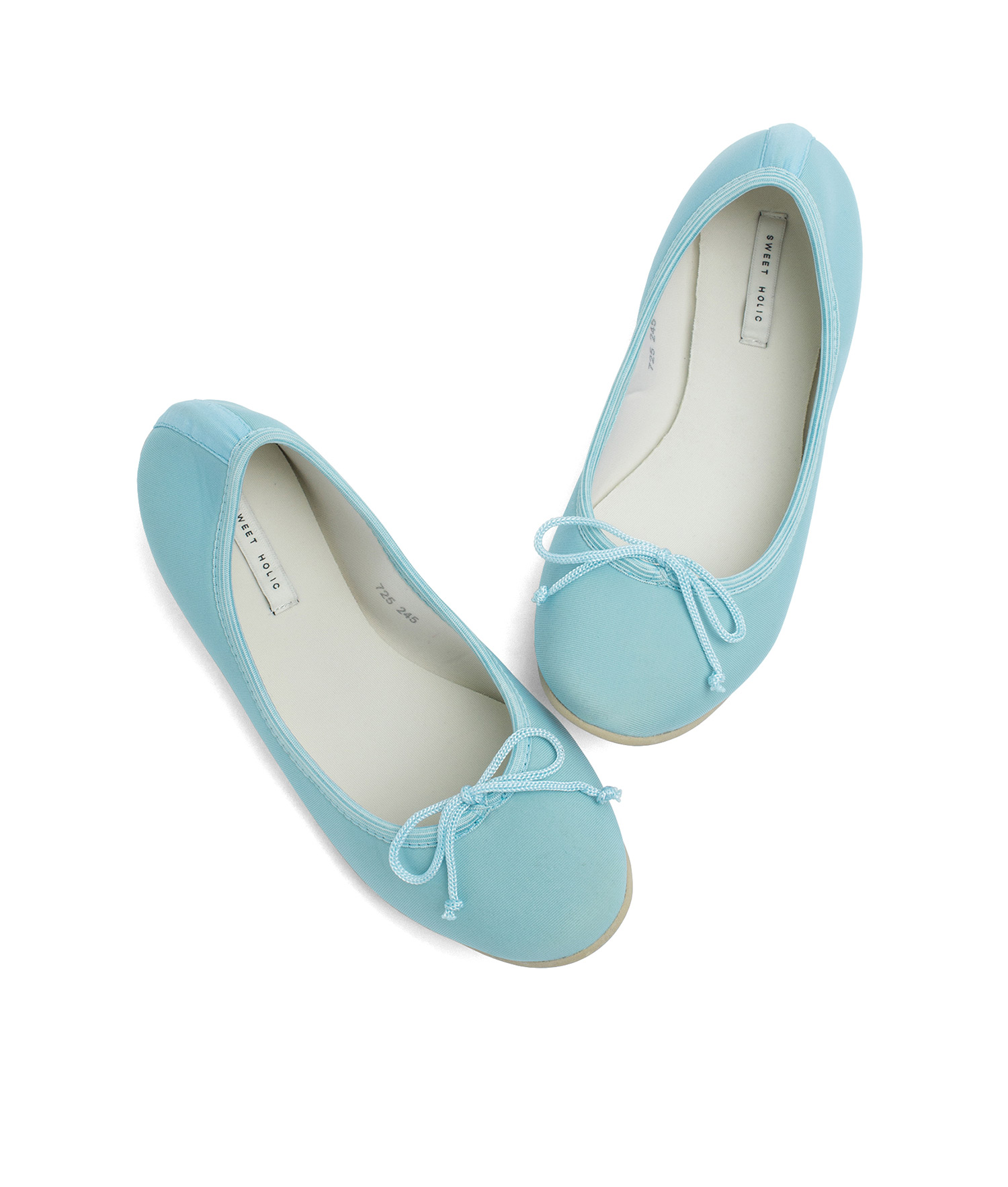 ddccafaaa97648 AnnaKastle Womens Neoprene Foldable Ballet Flats Cool Colors Light Blue