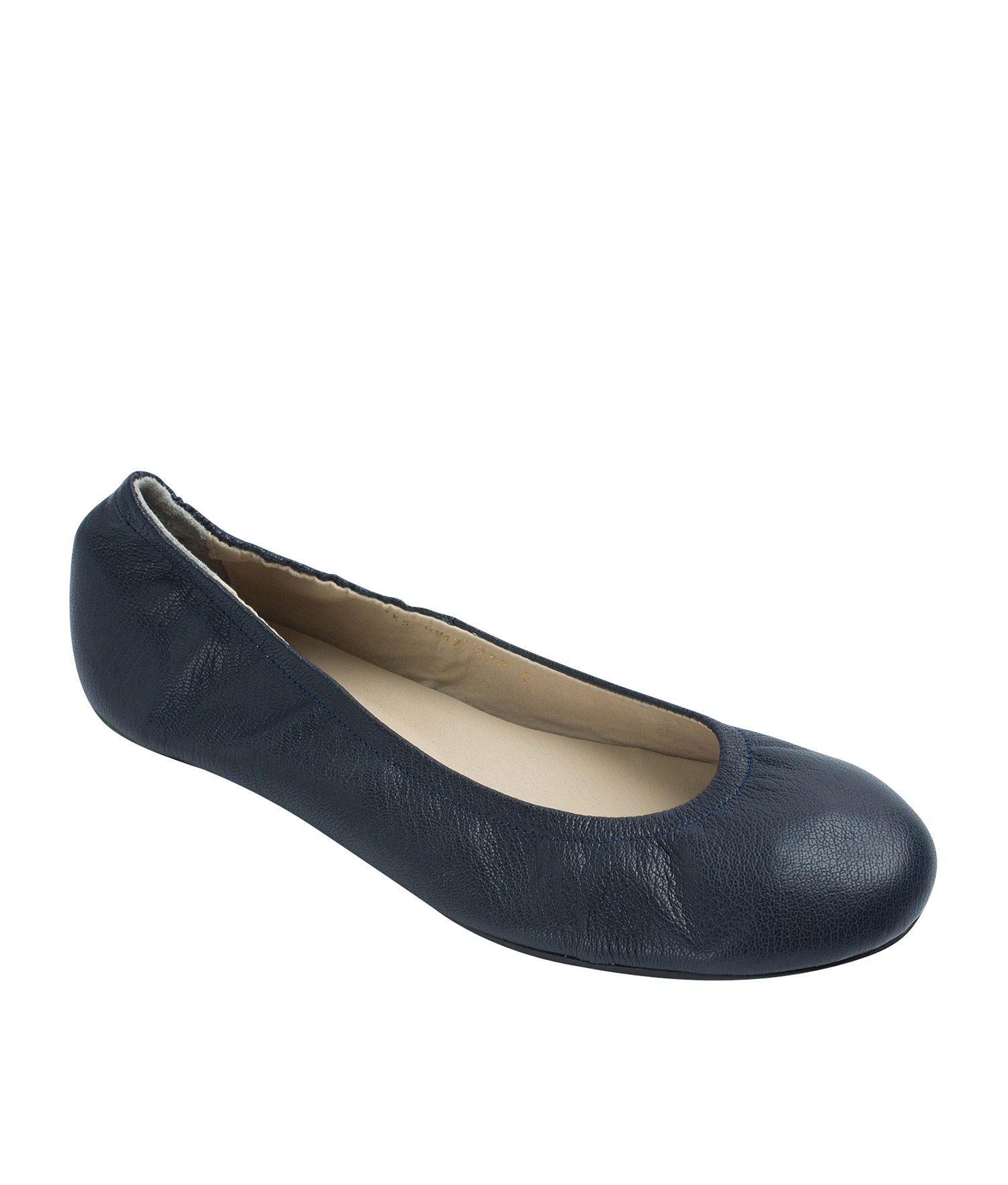 46477115dce7 Sy annakastle womens genuine leather elastic ballerina flats navy jpg  1500x1765 Shoes elastic ballerina flats