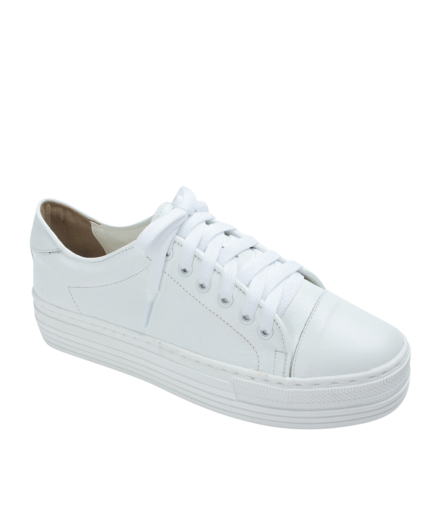 1bb9ca7fff262 AnnaKastle Womens Cute Cap Toe Platform Sneakers White