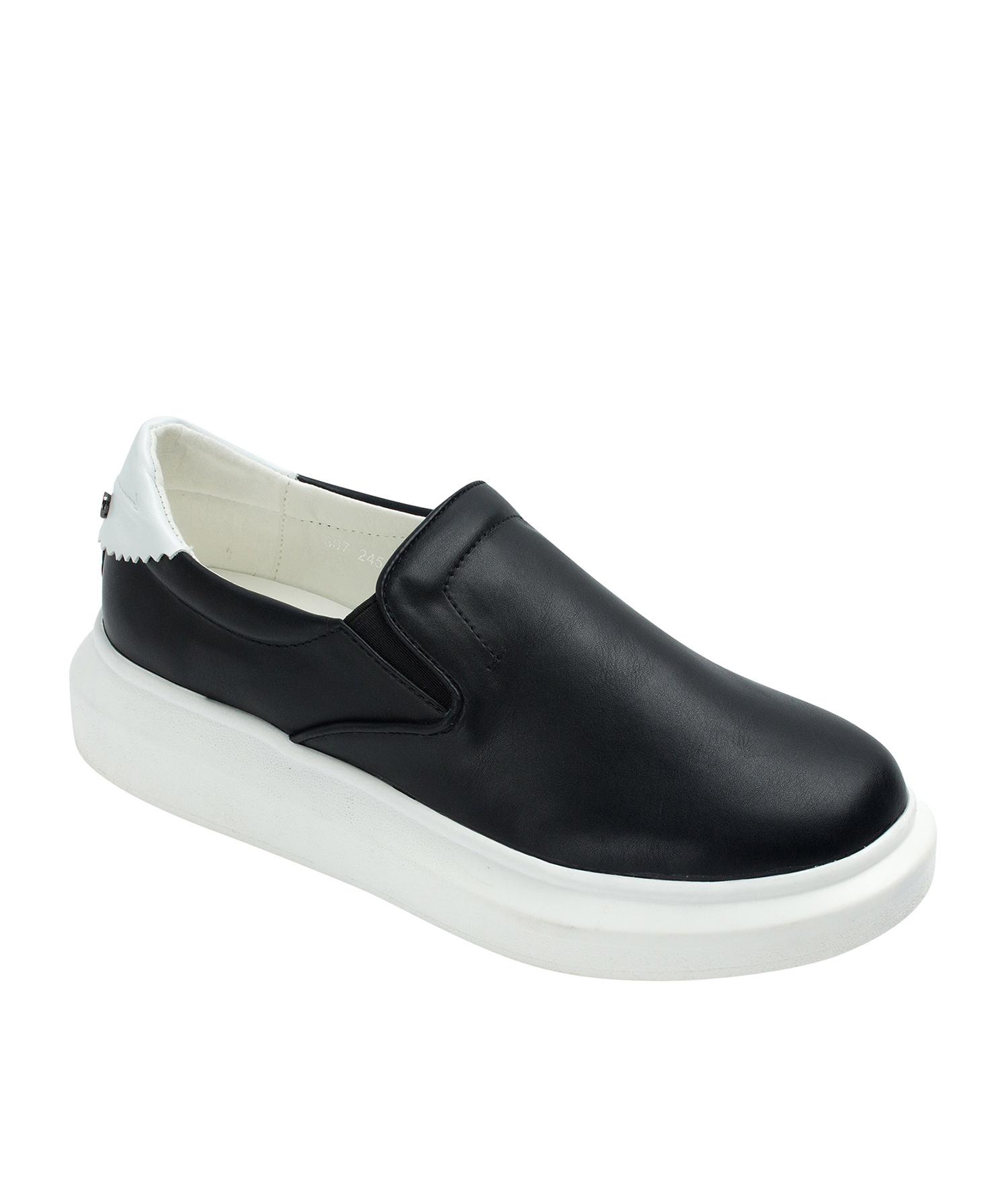 Thick Sole Slip On Sneakers