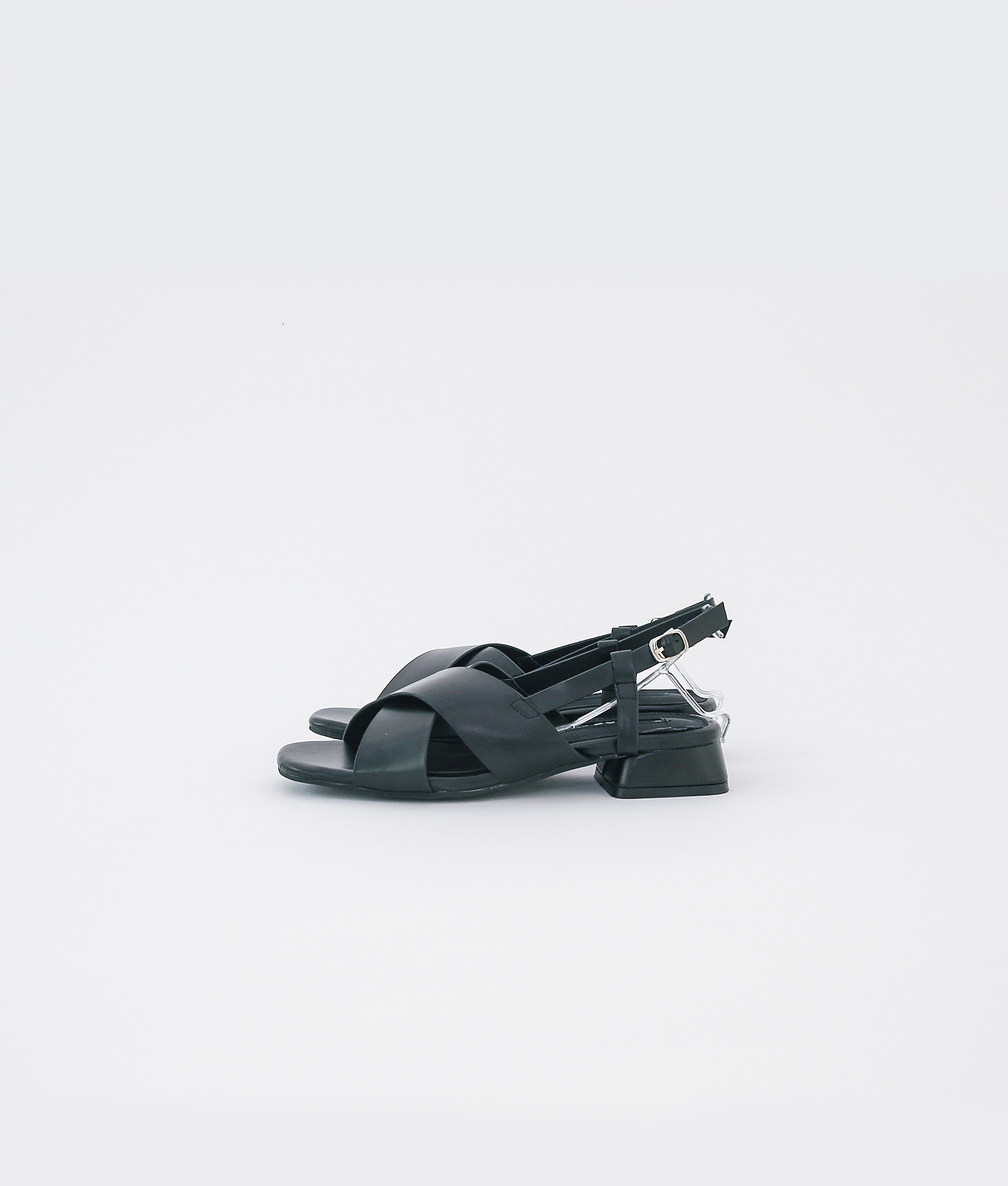 8fe6ee0ba569 AnnaKastle Womens Criss Cross Slingback Sandals Black