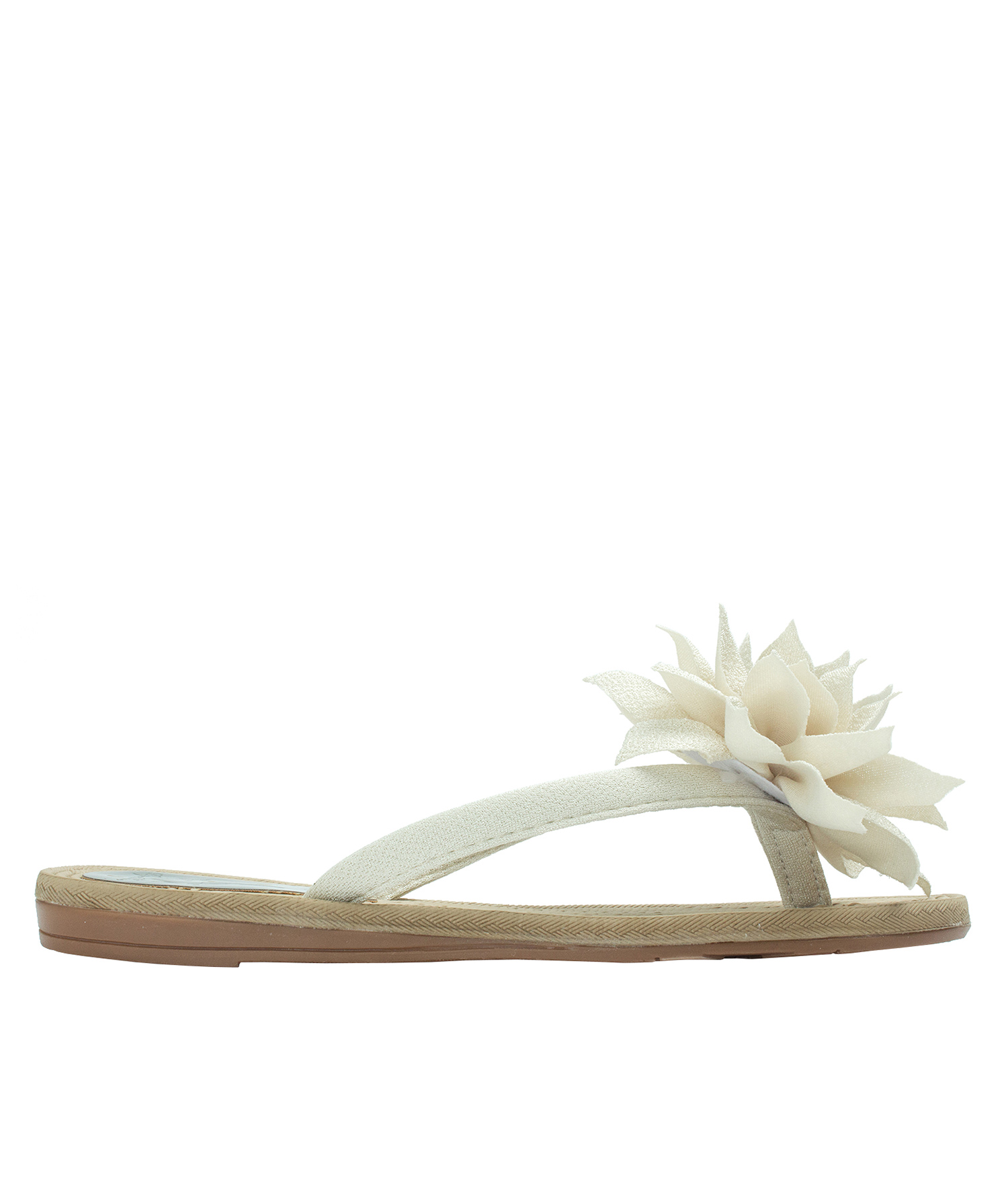 Big Flower Flip Flops Beach Sandals Annakastleshoes