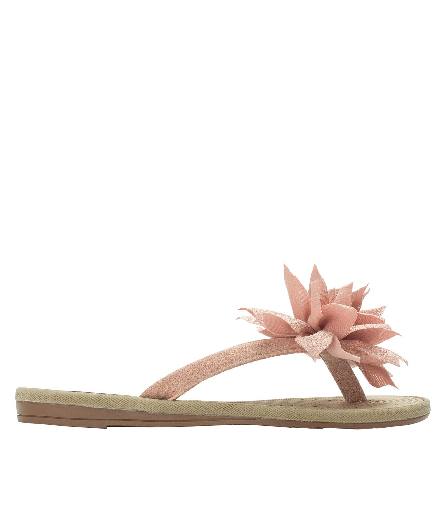 8ad6a506d328e AnnaKastle Womens Big Flower Flip Flops Beach Sandals Tulip