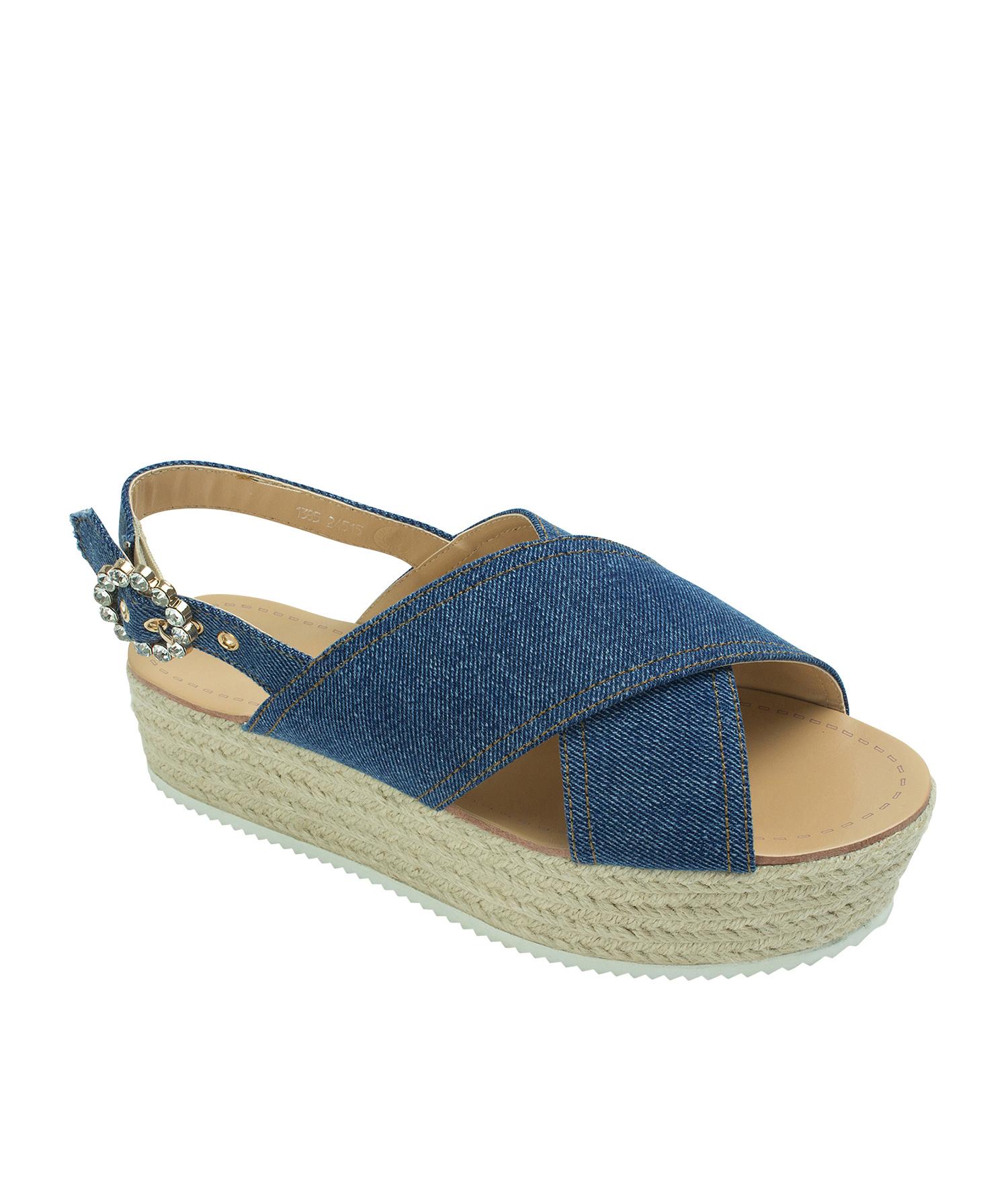 2b18379a07c Crisscross Platform Espadrille Sandals