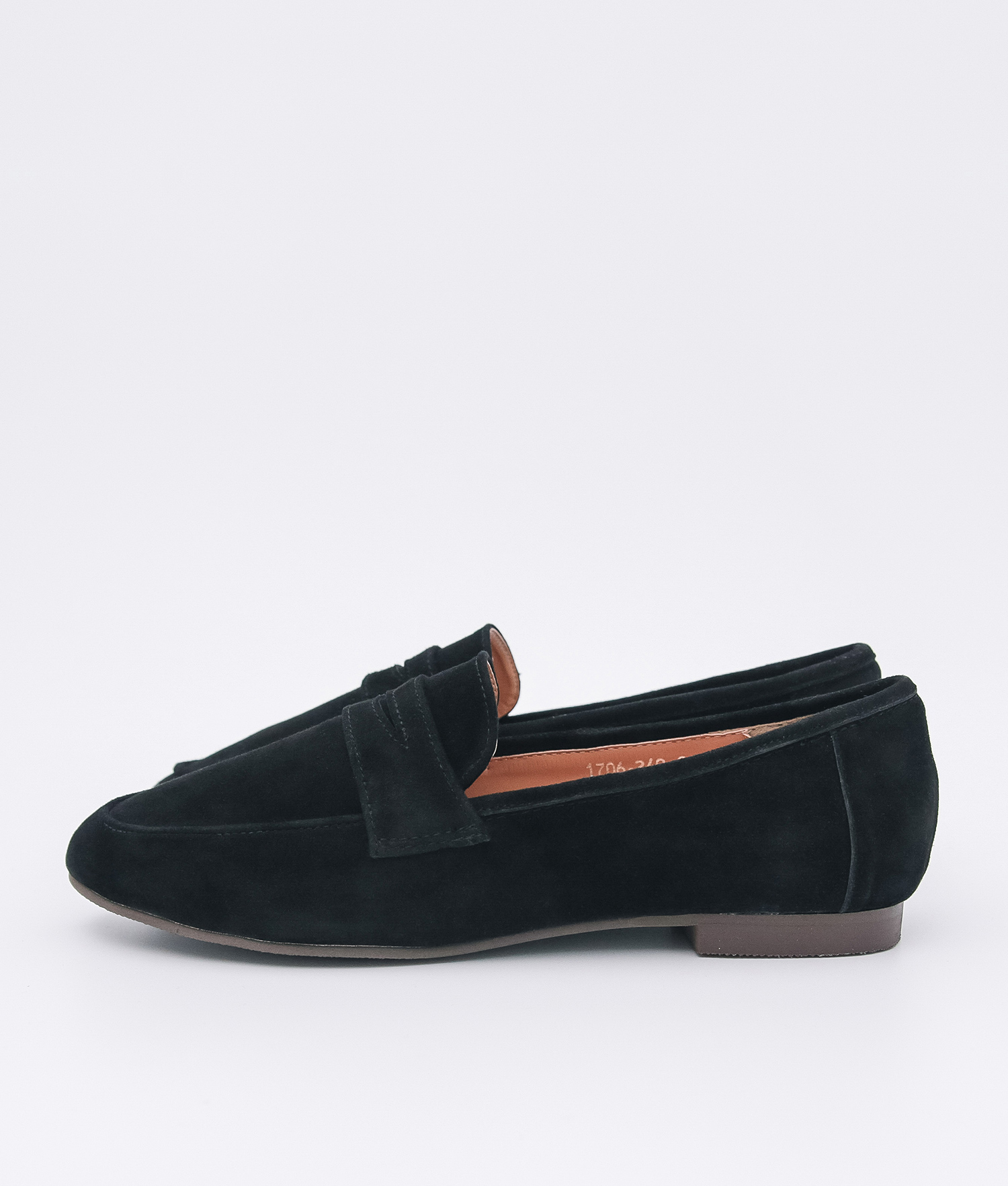 8abf2a1ae9e AnnaKastle Womens Cute Suede Penny Loafers Black