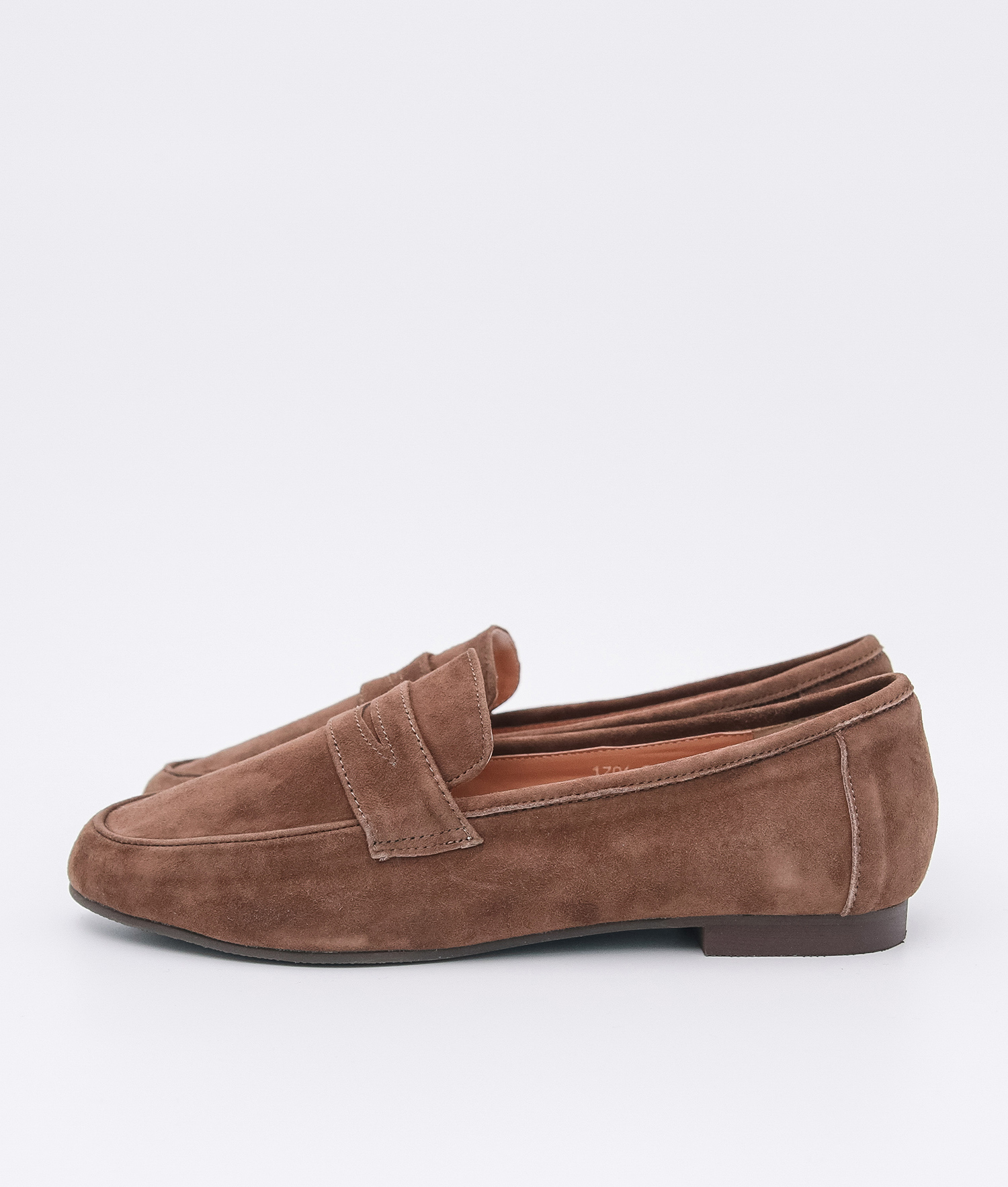 7f52f974f77 AnnaKastle Womens Cute Suede Penny Loafers Brown