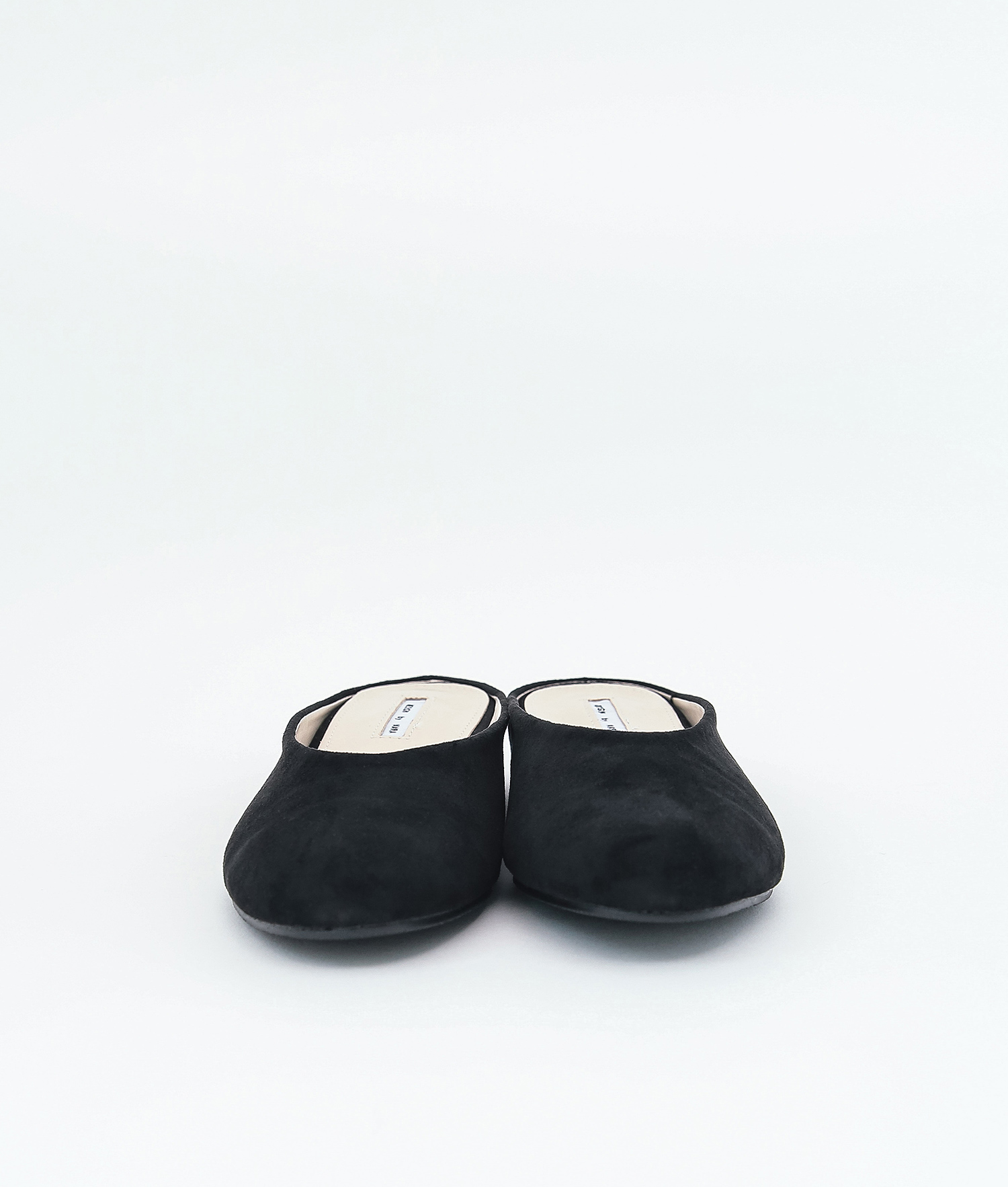 e943767ec838 AnnaKastle Womens Faux Suede Mule Slides Black