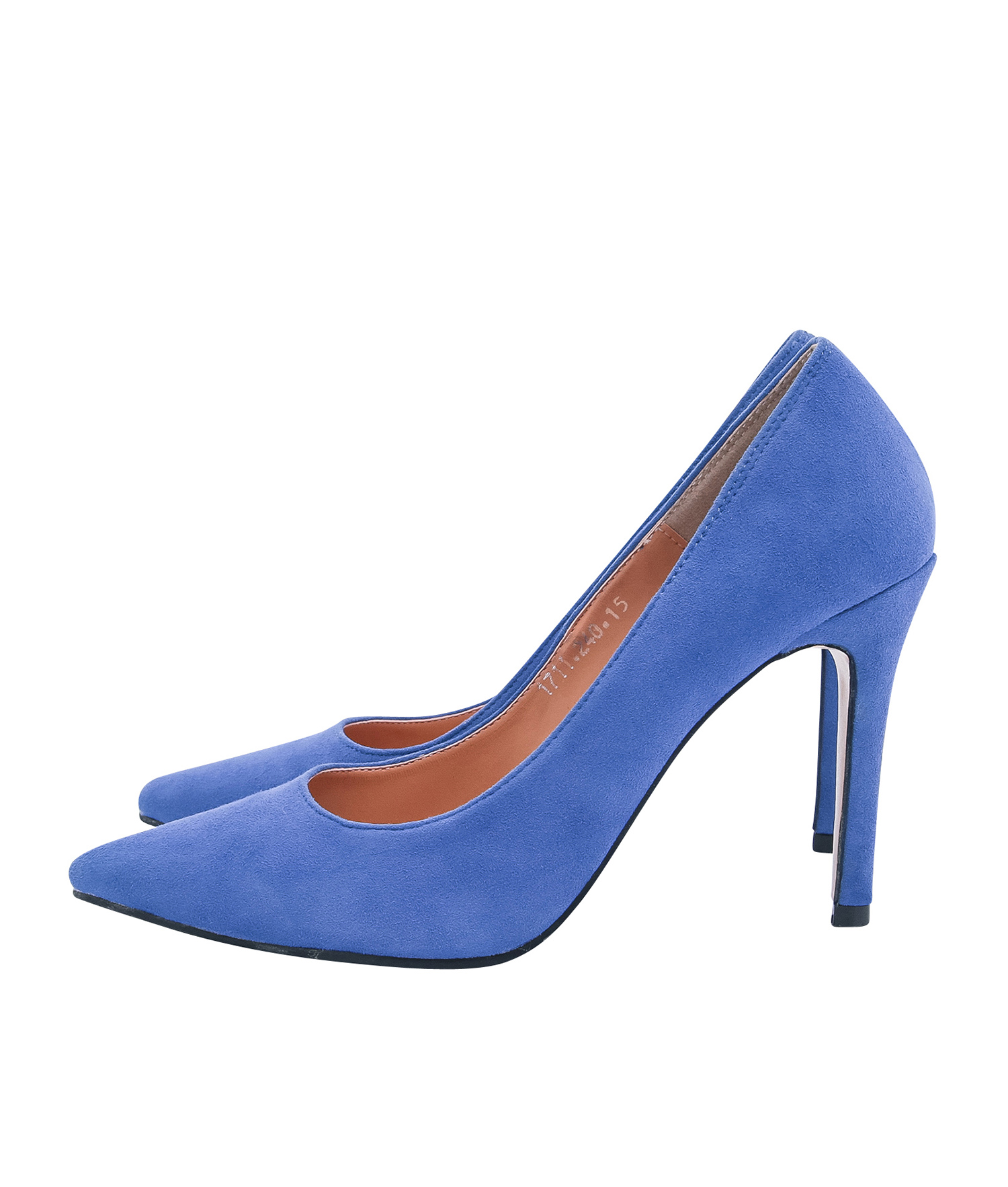 4b67f395d76a AnnaKastle Womens Pointy Toe High Heel Court Shoes Blue
