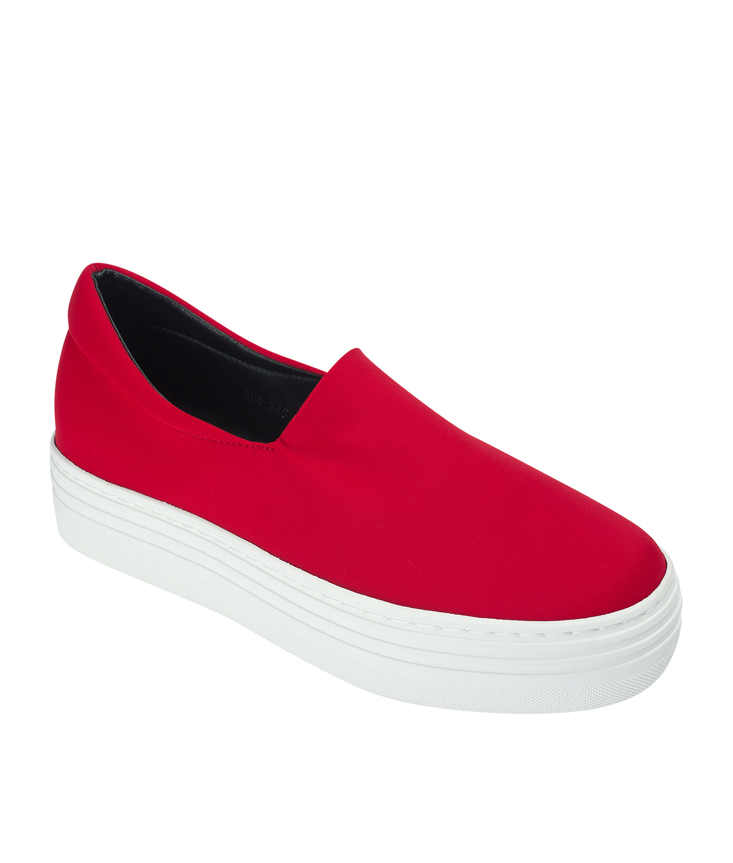 d11350187ef Neoprene Stretch Platform Slip On Sneakers - annakastleshoes.com