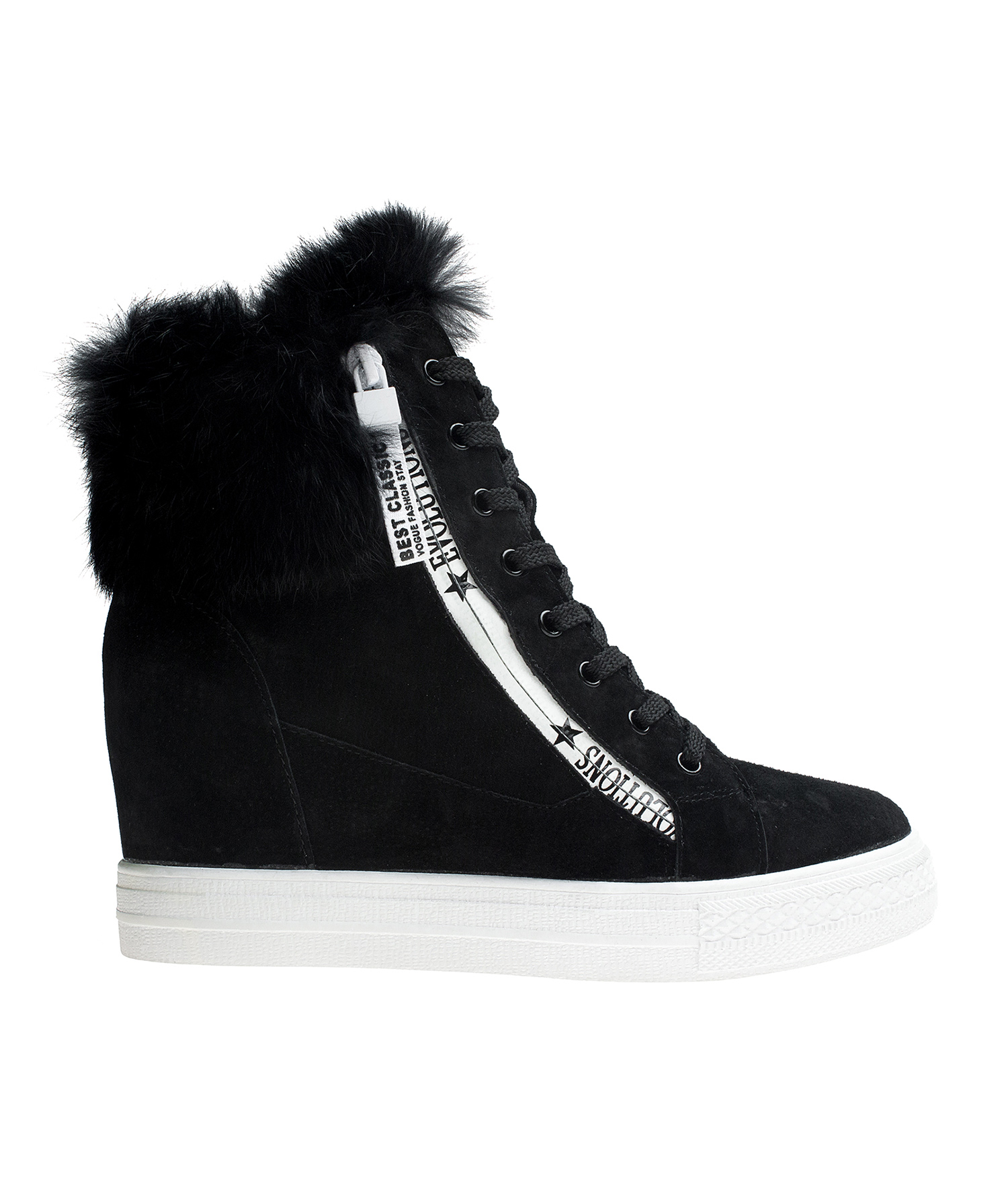 suede sneaker booties