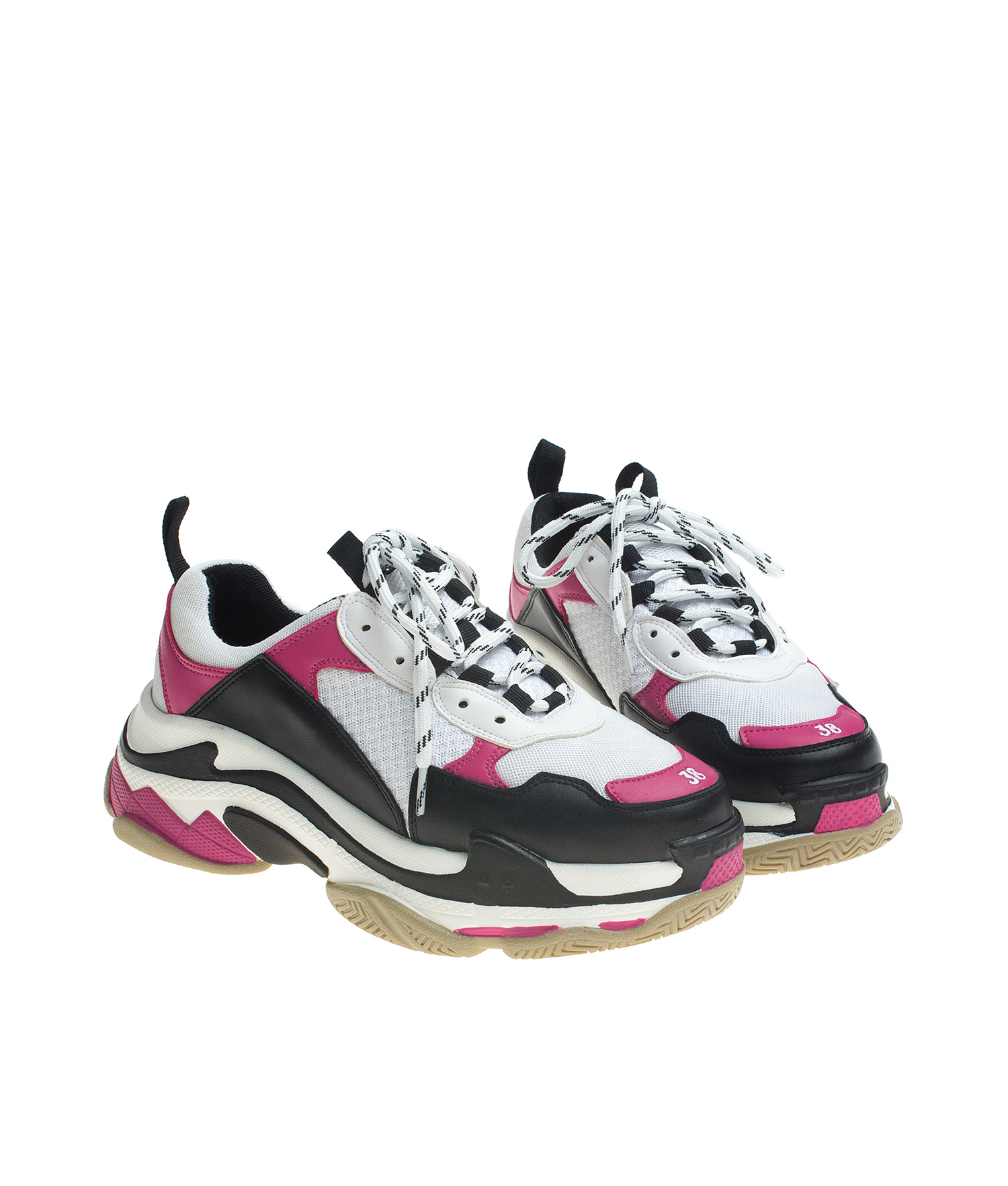 Low Top Chunky Sole Fashion Sneakers Annakastleshoes Com