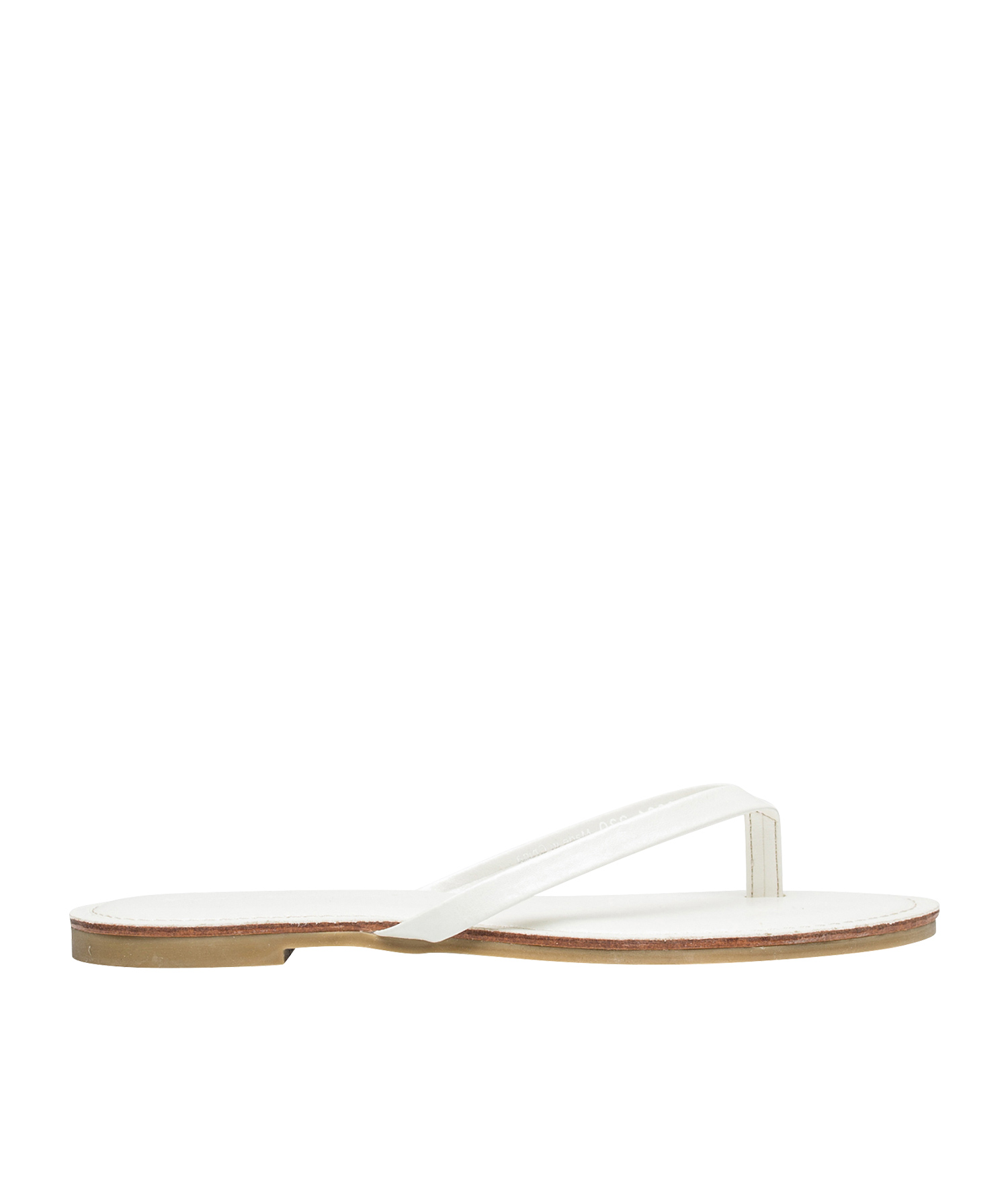 d538b77423f0b AnnaKastle Womens Sunshine Classic Flip Flop Sandals White