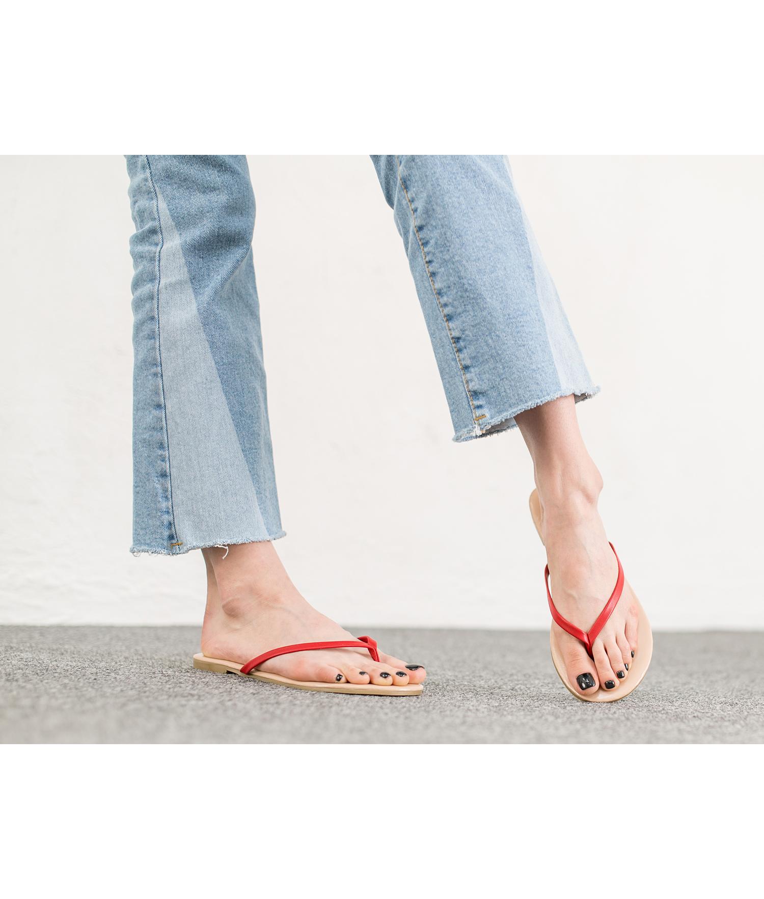a8c67299e89a8 Dorie Simple Flip Flop Shoes - annakastleshoes.com