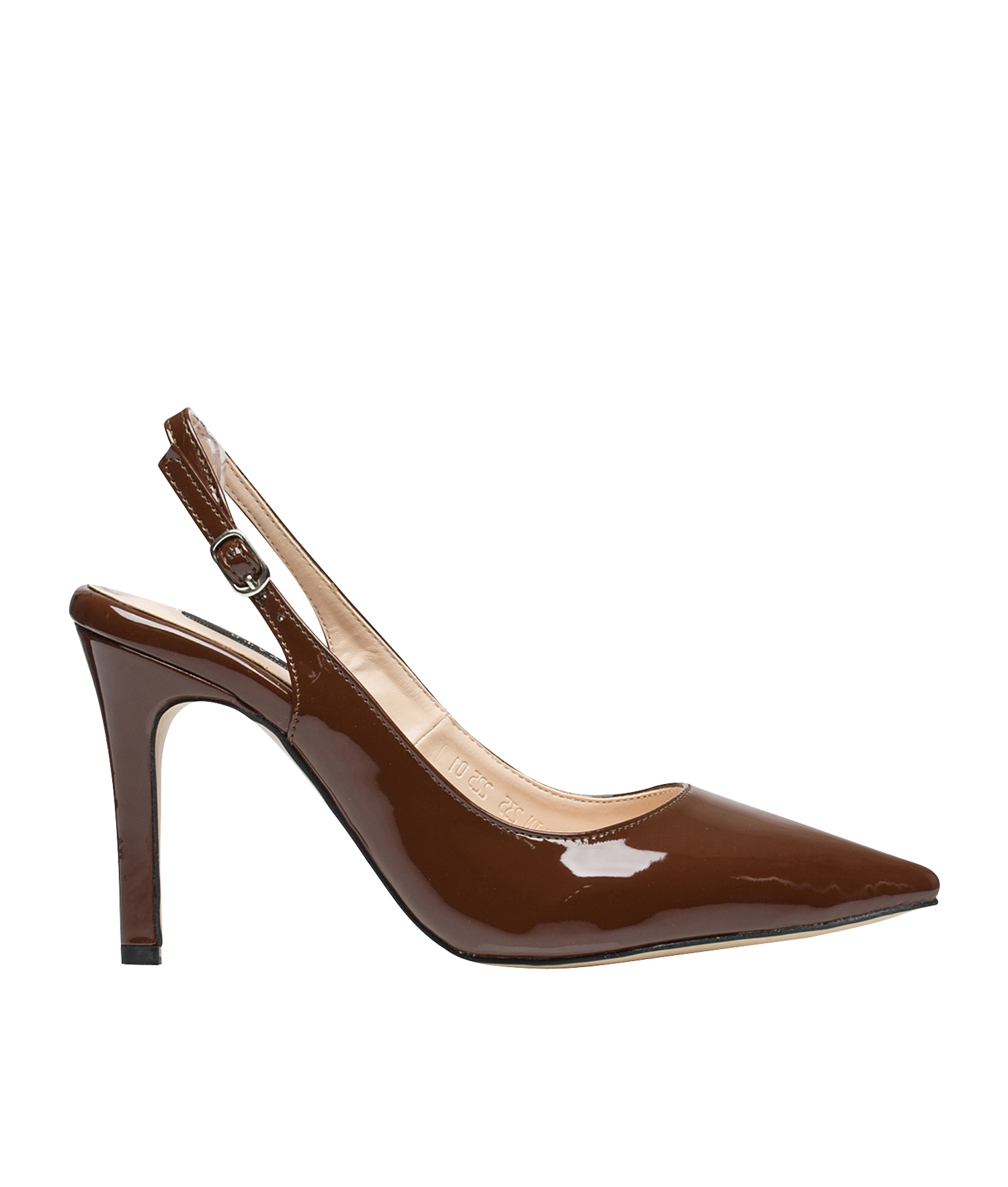Patent Slingback High Heel Pumps Annakastleshoes Com