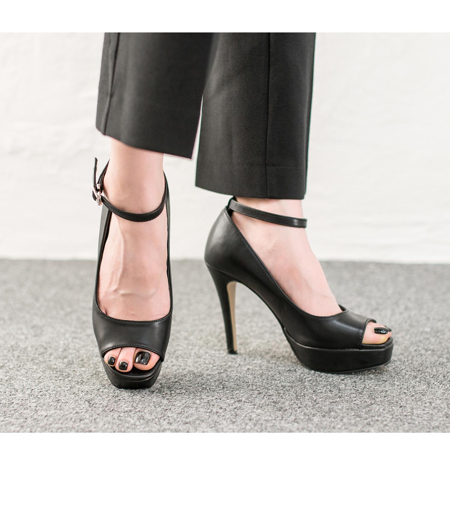 Peep Toe Platform Stiletto Heel Pumps Annakastleshoes Com