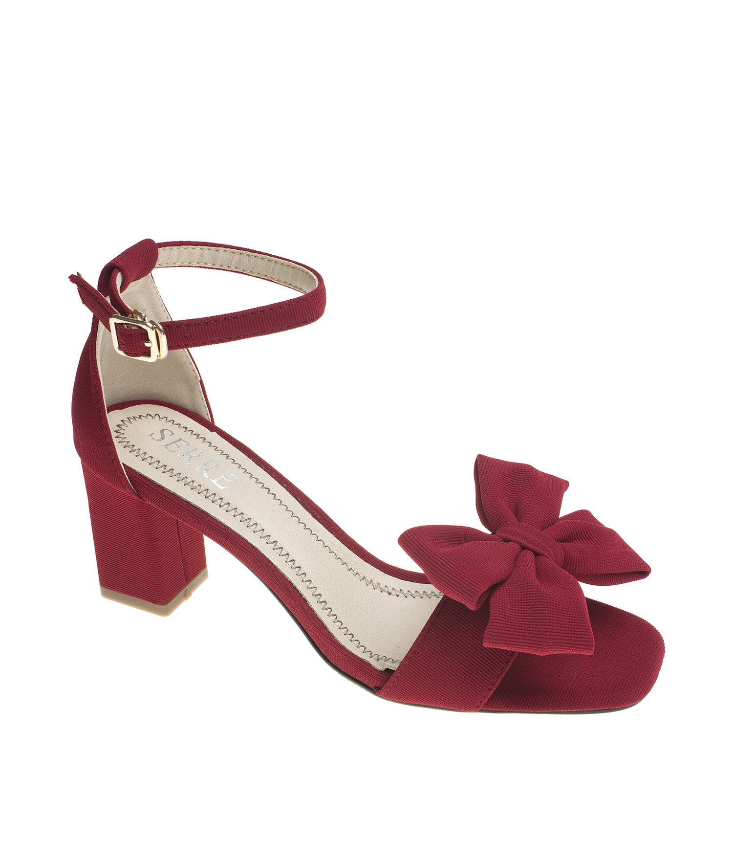Ankle Strap Heel Sandals Bow Dress Shoes Annakastleshoes Com