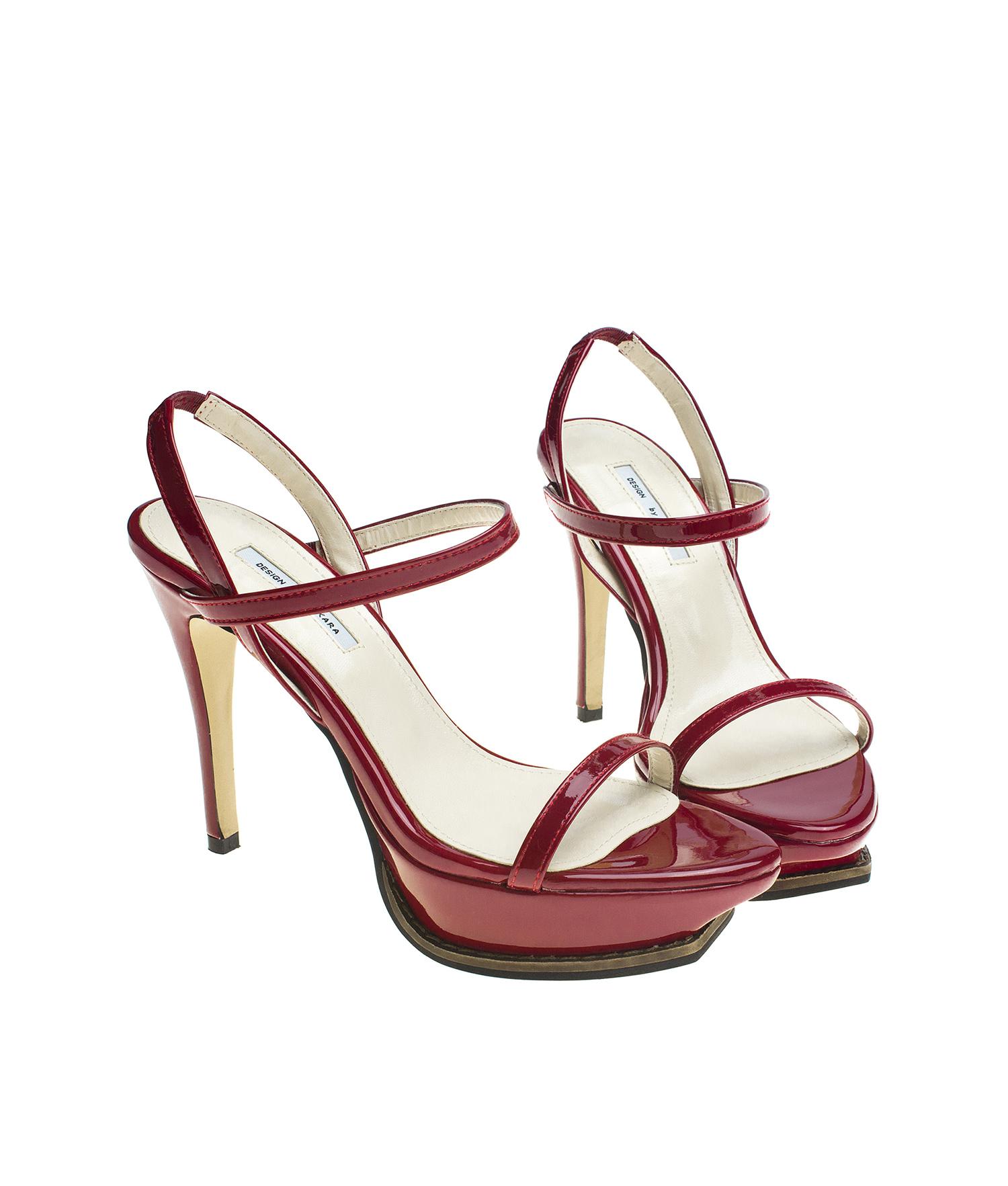 Patent Stiletto Heel Sandals Dress Shoes Annakastleshoes Com