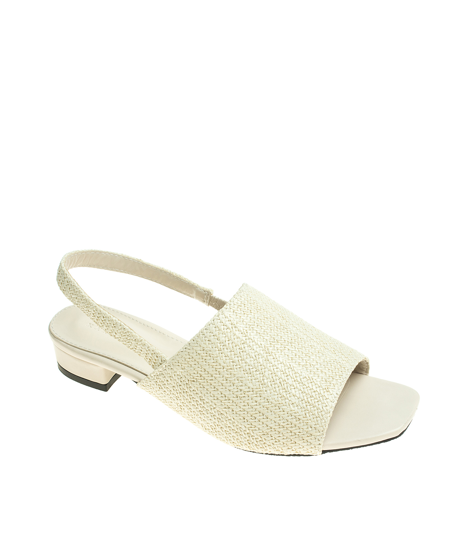 87b3d91501e61 Cr annakastle womens natural color open toe woven slingback flat mule  sandals ivory jpg 1500x1765 Open