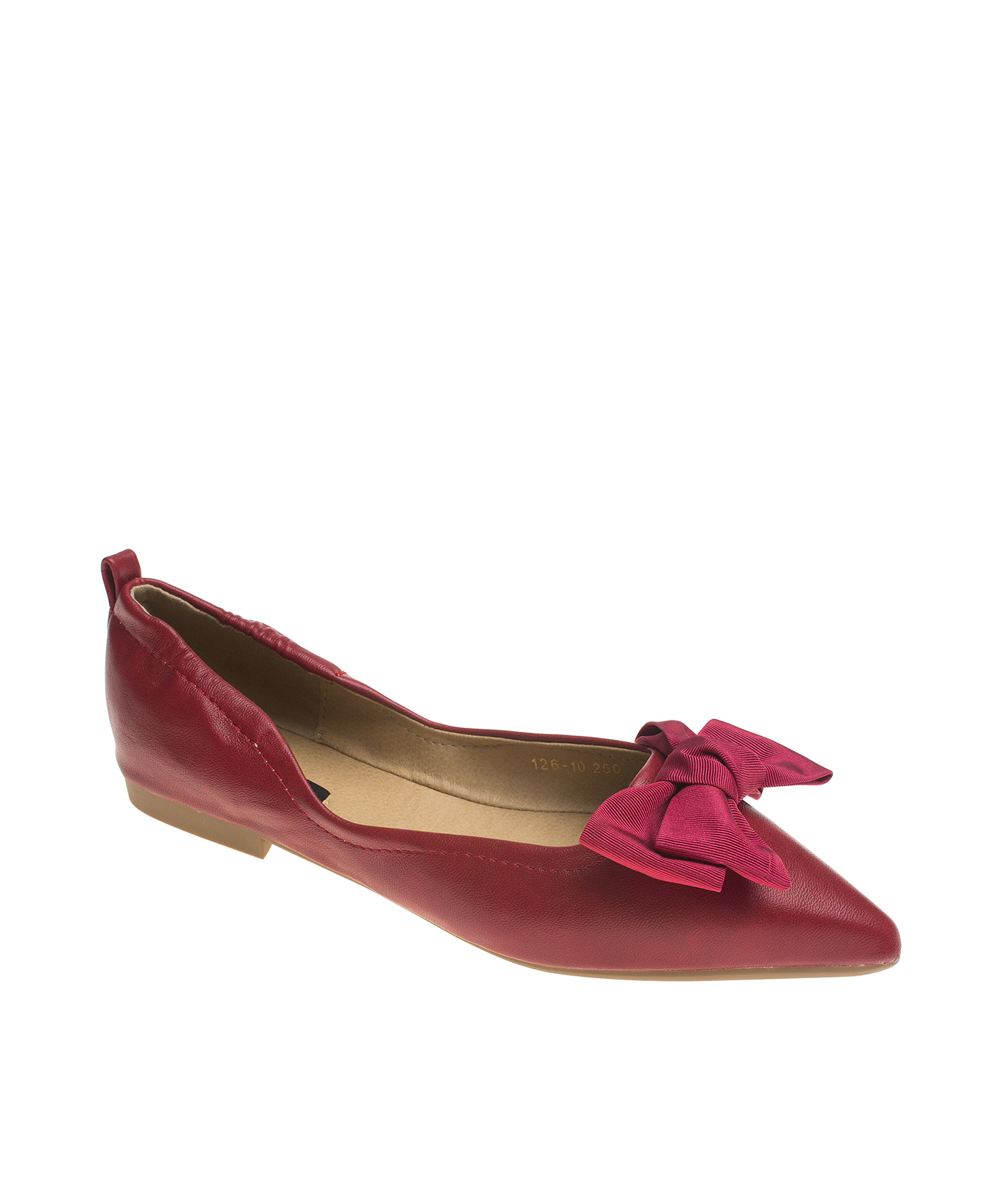 869da5d60ee Pointy Toe Comfortable Ballet Flats with Bow - annakastleshoes.com