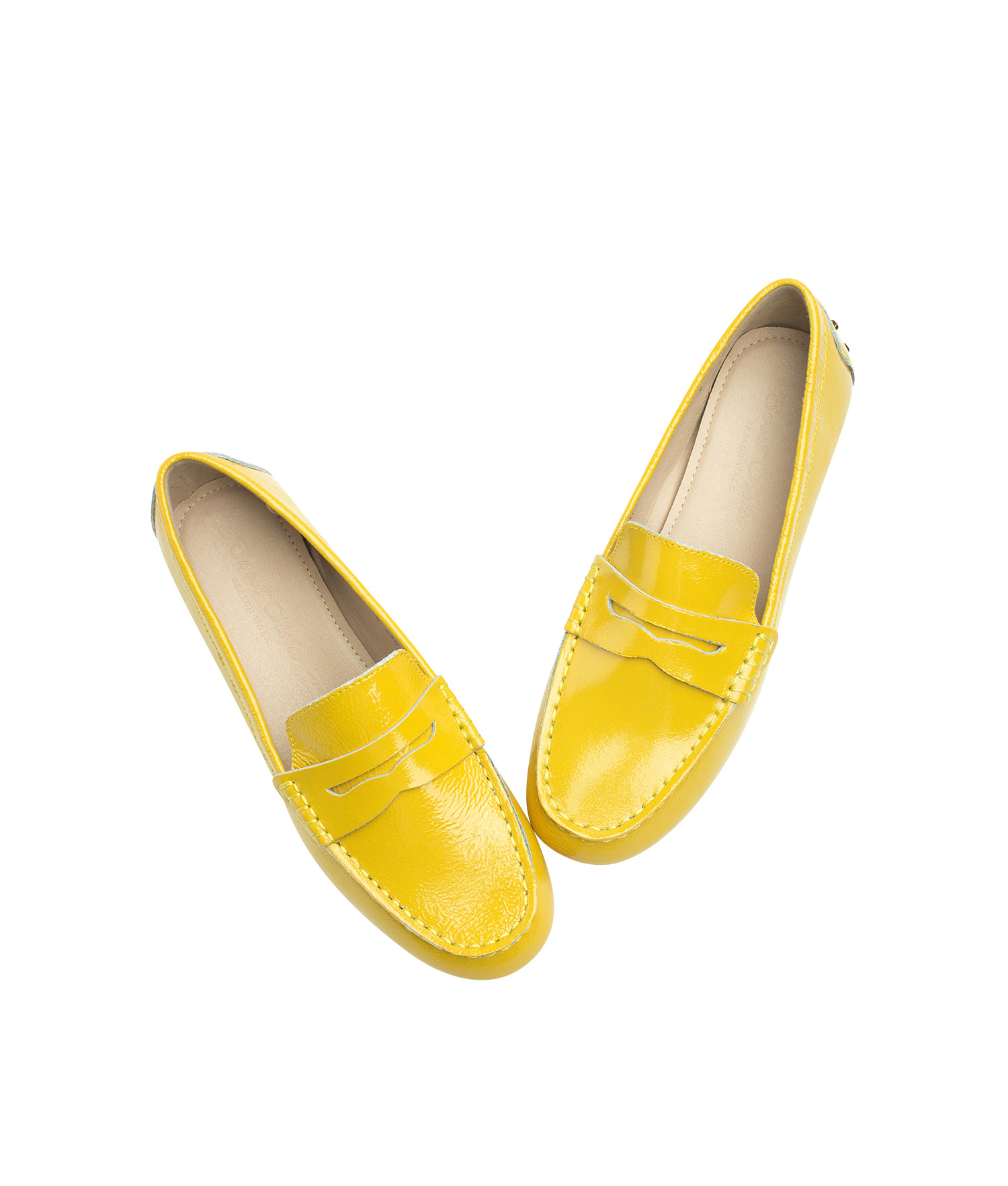 Patent Leather Penny Loafer Driving Shoes ...