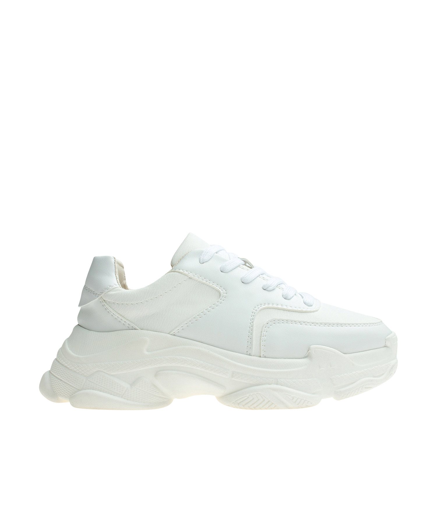 Chunky Sole Low Top Trainers
